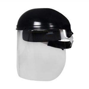 Clear Face shield with Browguard